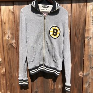 Boston Bruins Mitchell & Ness Jacket Sz sm